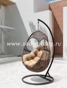 Плетеное подвесное кресло Solar из ротанга