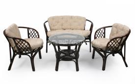 """Плетеный комплект мебели """"Багама"""" (браун)"""