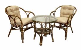 """Кофейный набор мебели """"Terrace Set"""" (олива)"""