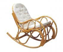 Плетеное кресло-качалка 05/04 (мёд)