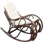 Кресло-качалка из ротанга 05/04 (браун)