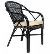 Плетеный стул Ellena (Венге)