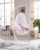 Плетеное подвесное кресло Easy White