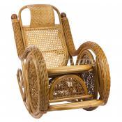 Кресло-качалка Twist Alexa (коньяк)