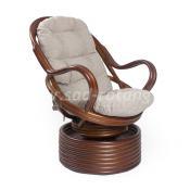Кресло-качалка Davao (коньяк)