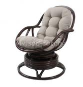 Кресло-качалка Kara (браун)