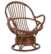 Кресло-качалка Swivel Rocker (коньяк)