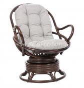 Кресло-качалка Swivel Rocker (браун)