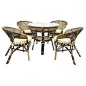 """Комплект мебели для отдыха  из ротанга """"Java-Б (4+1)"""""""