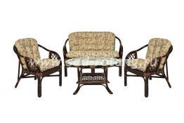 """Плетеный комплект мебели """"Гавана"""" (венге)"""