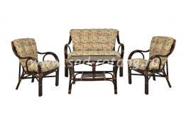 """Плетеный комплект мебели """"Макита"""" (браун)"""