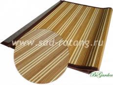 Циновка из бамбука 70х120 (Комбинированная)