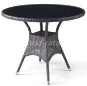 Плетеный стол из искусственного ротанга