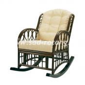 Кресло-качалка с мягким сиденьем Comodo