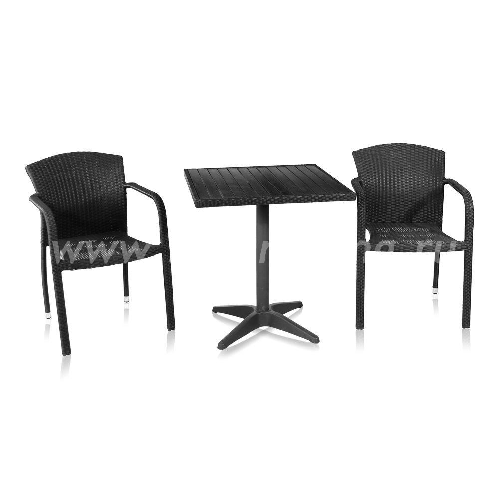 Комплект мебели Milano-2 (черный)