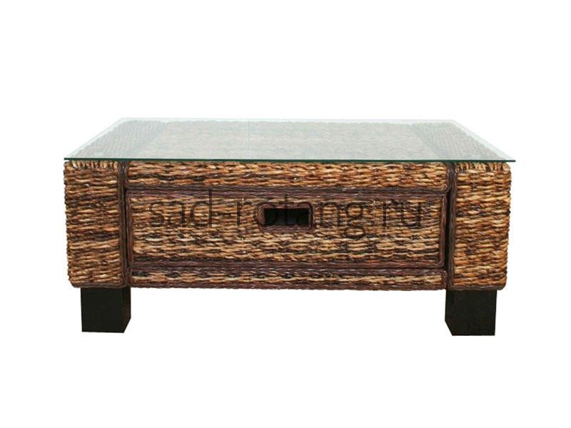 """Журнальный столик """"Erato"""" (Индонезия), размер 680*540*470, цвет коричневый"""