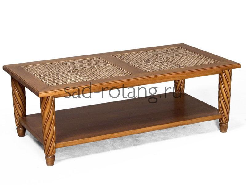 """Журнальный столик """"Melpomene"""" (Малазия), размер 1500*380*460, цвет коричневый"""