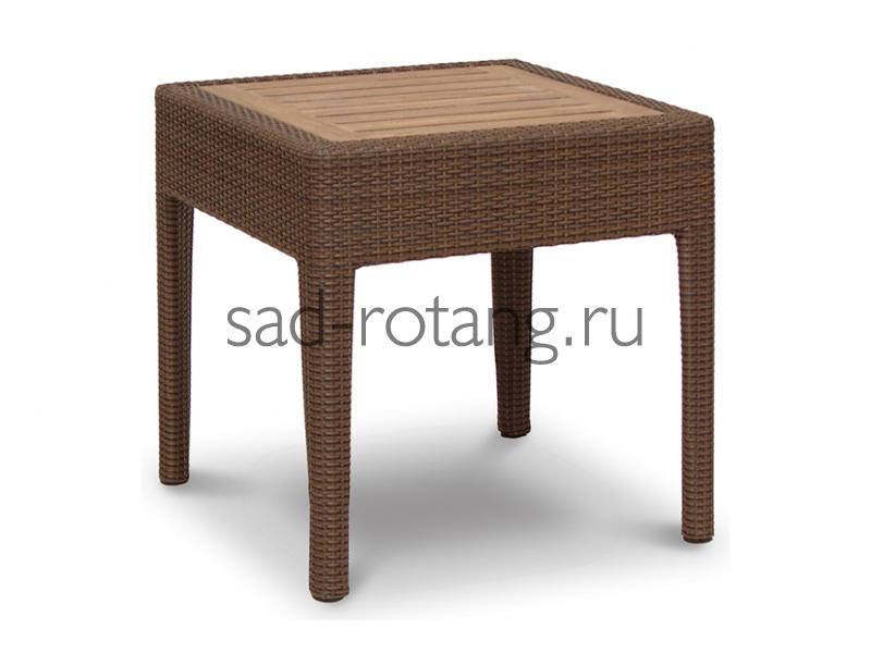 """Журнальный стол """"Thalia"""" (Индонезия), размер 570*570*560, цвет тёмно-коричневый"""