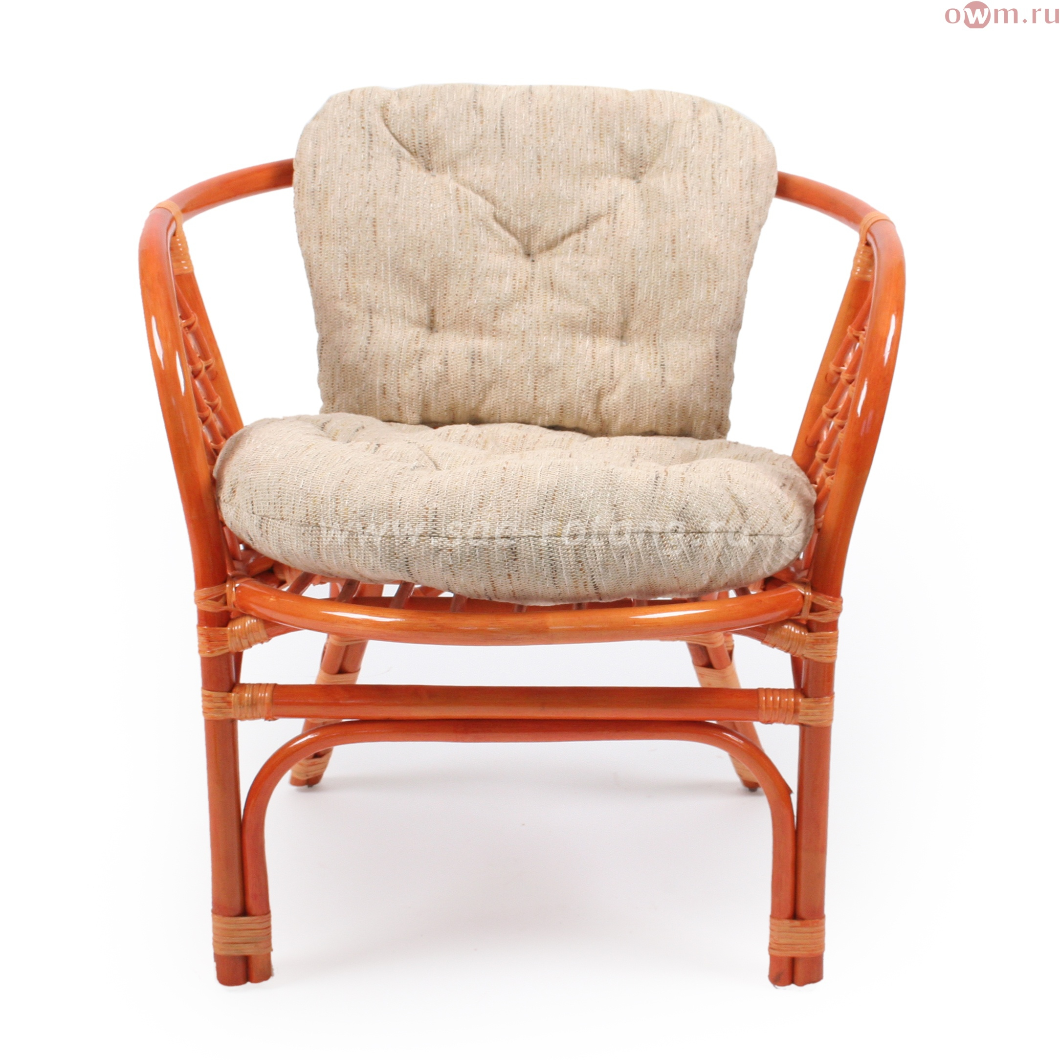 """Кресло плетеное """"Багама"""" 03/10 (Коньяк)"""