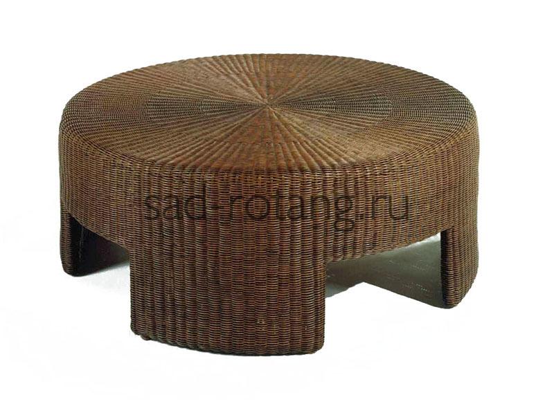 "Чайный столик ""Neutrino"" (Малазия), размер 710*420, цвет тёмно-коричневый"