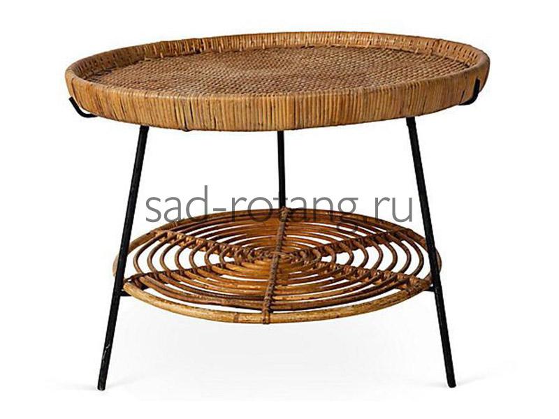 """Чайный столик """"Pheromonia"""" (Индонезия), размер 660*480, цвет коричневый"""