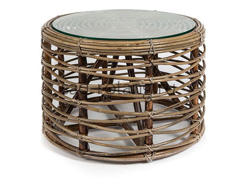 """Чайный столик """"Revenue"""" (Индонезия), размер 610*510, цвет светло-коричневый"""