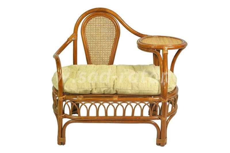 Кресло телефонное Эгоист со столиком (коньяк) (Индонезия)