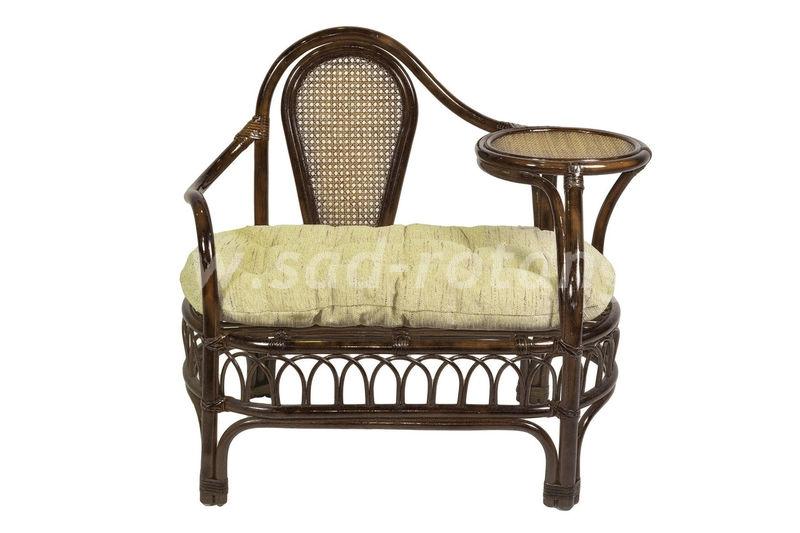 Кресло со столиком для телефона Эгоист (браун) (Индонезия)