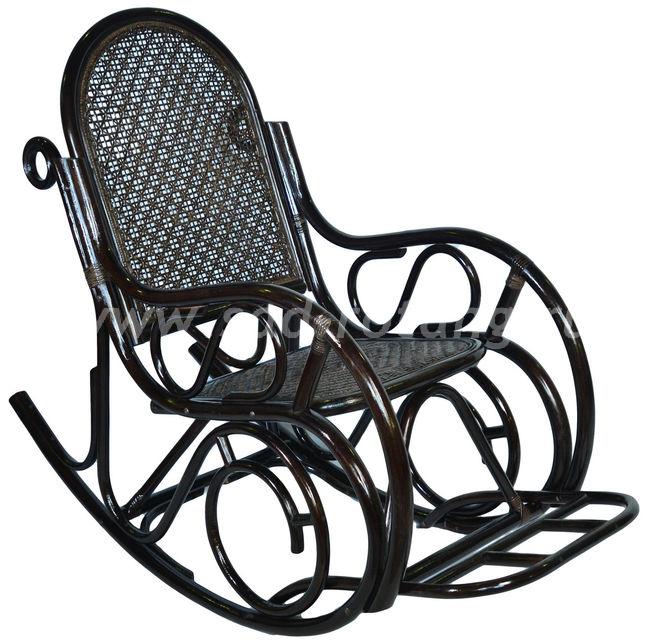 Кресло-качалка 05/10В (венге) (Индонезия)
