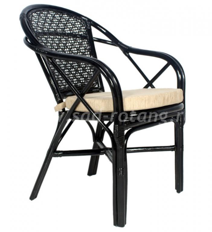 Плетеный стул Ellena (Венге) (Индонезия)