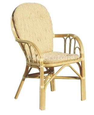 Плетеный стул из ротанга 04/16 (мёд) (Индонезия)