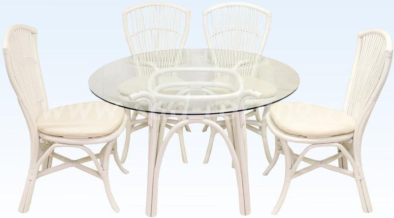 Комплект мебели Bali (белый) (Индонезия)