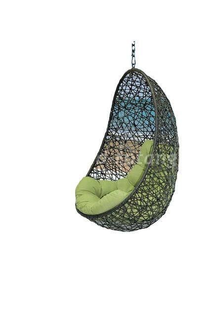 Плетеное подвесное кресло Easy BS (Индонезия), цвет черный