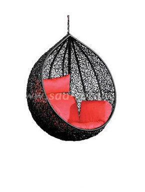 Кресло подвесное Tropica Black BS (Индонезия), цвет черный