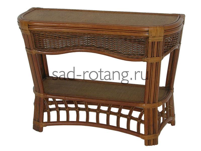 """Столик под телевизор """"Clarko"""" (Индонезия), размер 900*500*450, цвет тёмно-коричневый"""