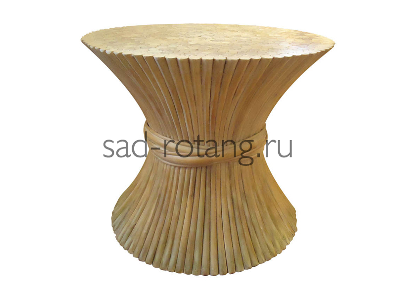"""Столик под телефон """"Julio"""" (Индонезия), размер 600*570, цвет светло-коричневый"""