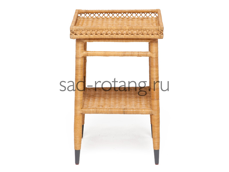 """Столик под телефон """"Lectra"""" (Индонезия), размер 450*450*630, цвет светло-коричневый"""