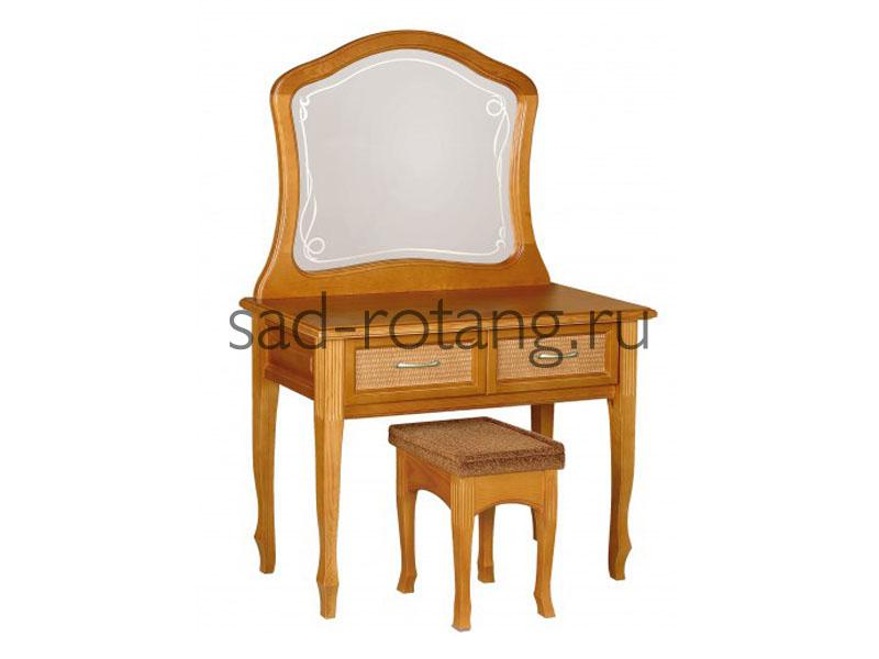 """Туалетный столик """"Juliette"""" (Индонезия), размер 580*1100*773, цвет коричневый"""