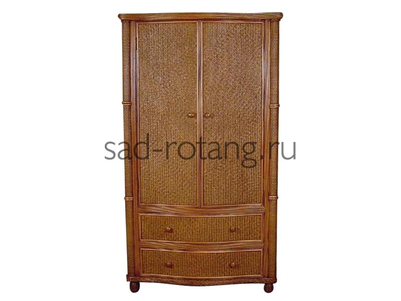 """Шкаф в прихожую """"Nectar"""" (Индонезия), размер 1200*640*2040, цвет коричневый"""