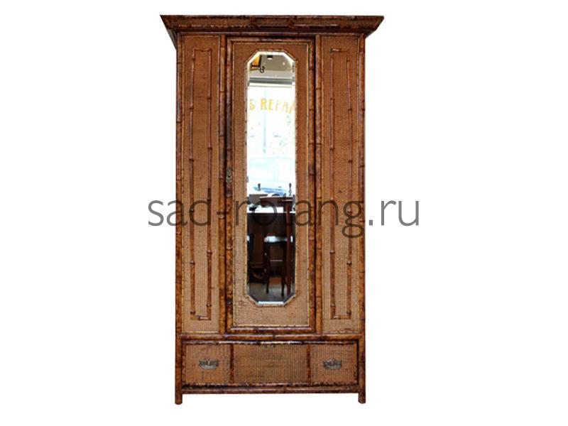 """Шкаф для одежды """"Prism"""" (Индонезия), размер 1210*610*2000, цвет коричневый"""