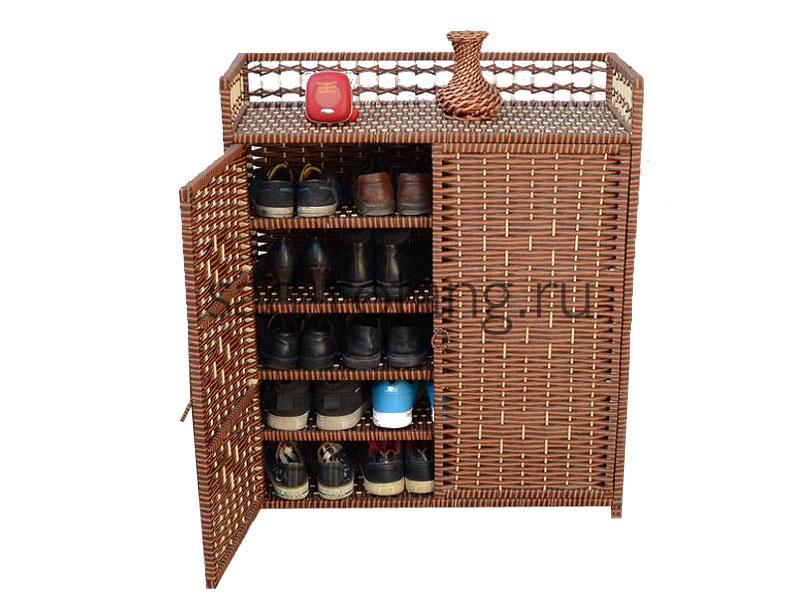 """Шкаф для обуви """"Dominic"""" (Индоназия), размер 750*360*950, цвет коричневый"""