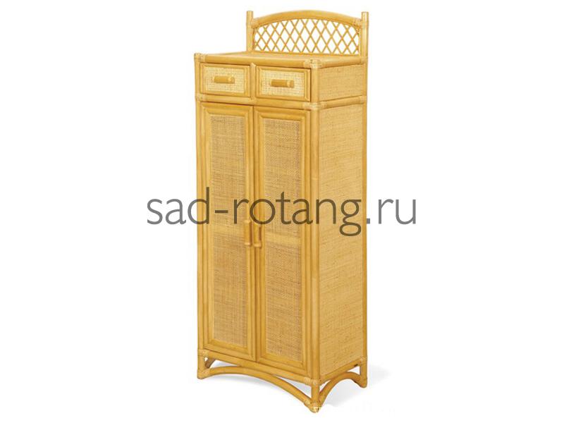 "Шкаф для обуви ""Richard"" (Индонезия), размер 600*350*1470, цвет жёлто-коричневый"