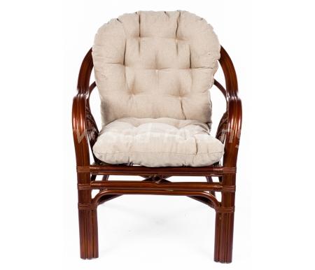 Кресло Roma (браун) (Индонезия), размер Высота - 85 см. <br/> Глубина - 90 см. <br/> Ширина - 70 см.