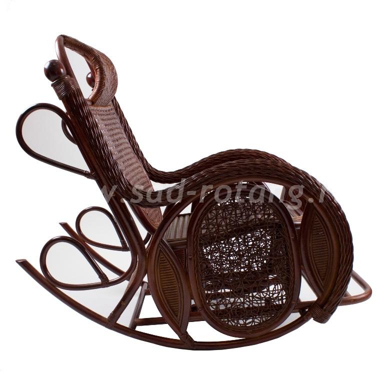 Кресло-качалка Twist Alexa (браун)  (Индонезия), размер Высота - 110 см. <br/> Глубина - 125 см. <br/> Ширина - 68 см.