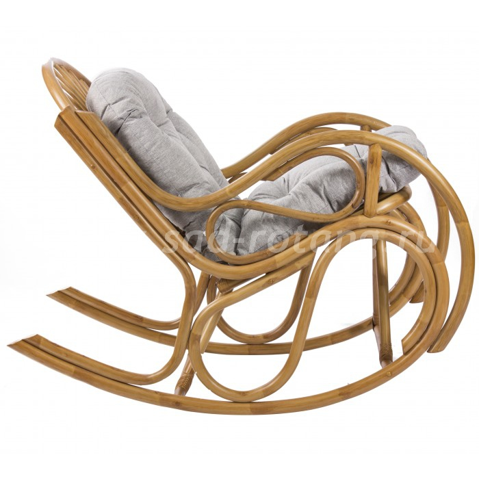 Кресло -качалка Bella (мёд) (Индонезия), размер Высота - 100 см. <br/> Глубина - 125 см. <br/> Ширина - 60 см.