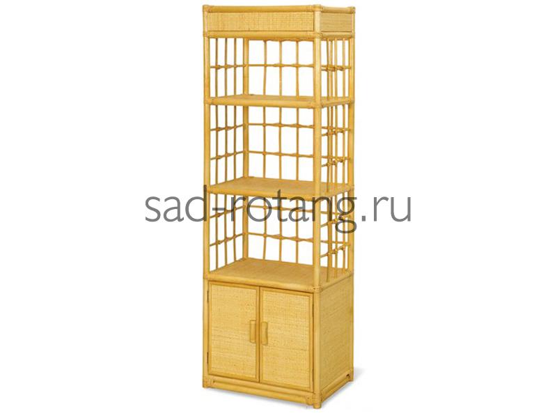 "Этажерка ""Salinger"" (Индонезия), размер 1610*600*360, цвет светло-желтый"
