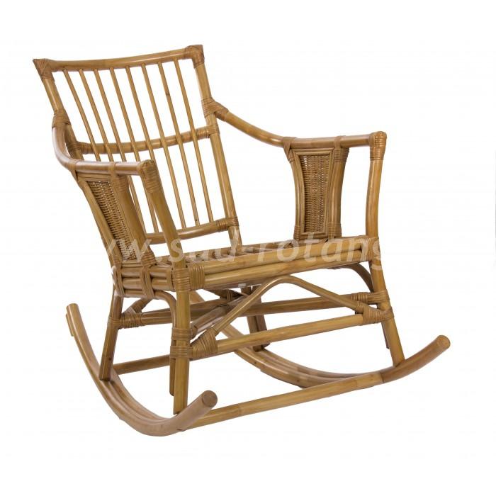 Кресло-качалка Canary (мёд) (Индонезия), размер Ширина - 90 см. <br/> Глубина - 66 см. <br/> Высота - 100 см.