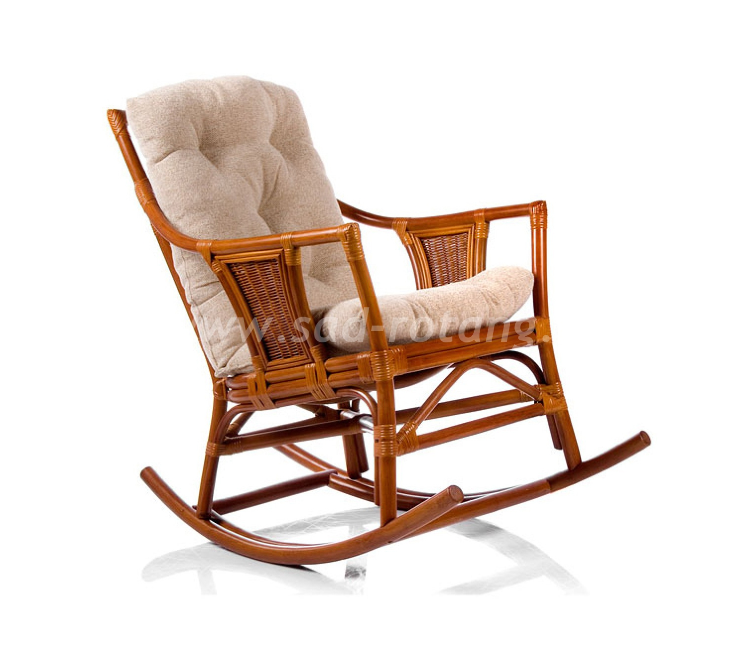 Кресло-качалка Canary (коньяк) (Индонезия)
