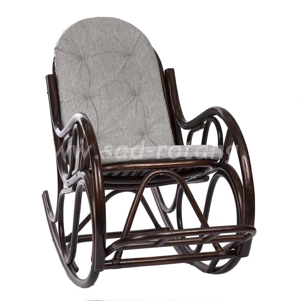 Кресло-качалка Classic (венге) (Индонезия), размер Высота - 100 см. <br/> Глубина - 120 см. <br> Ширина - 60 см.