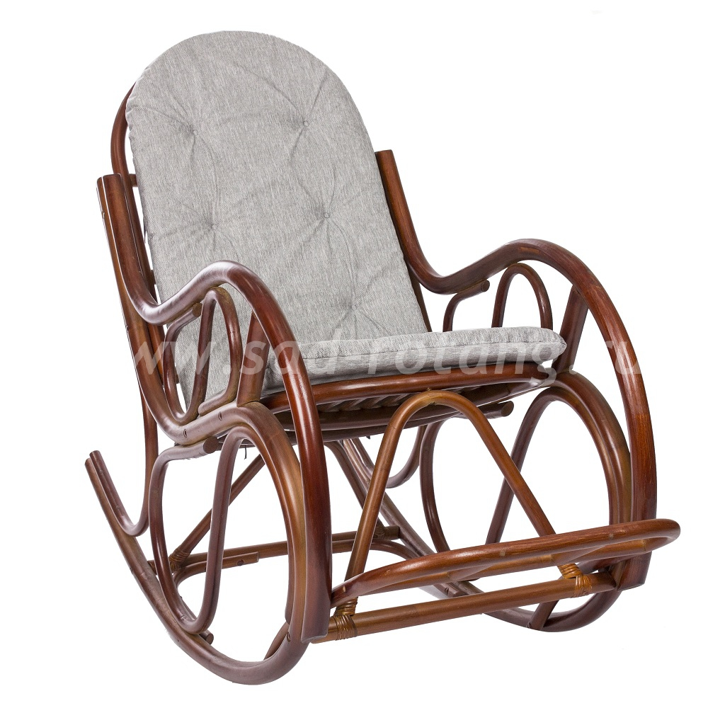 Кресло-качалка Classic (коньяк) (Индонезия), размер Высота - 100 см. <br/> Глубина - 120 см. <br/> Ширина - 60 см.